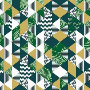patrón de triángulos 1