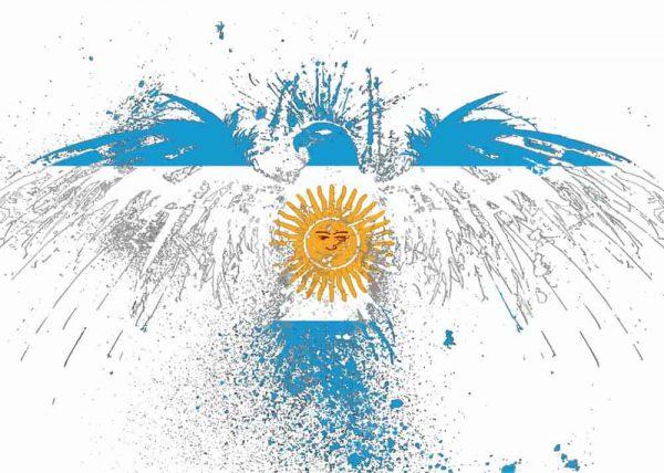Ilustración ÁGUILA ARGENTINA / sin margen