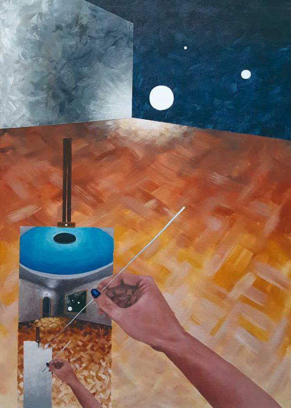Pintura PINTANDO / SIn margen