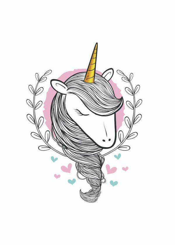 Ilustración Unicornio