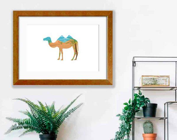 Camello Doble, Barnizado / con margen
