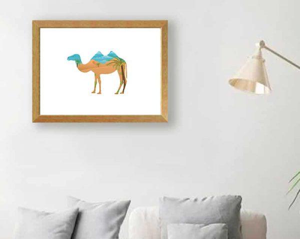 Camello Doble, Natural / Sin margen