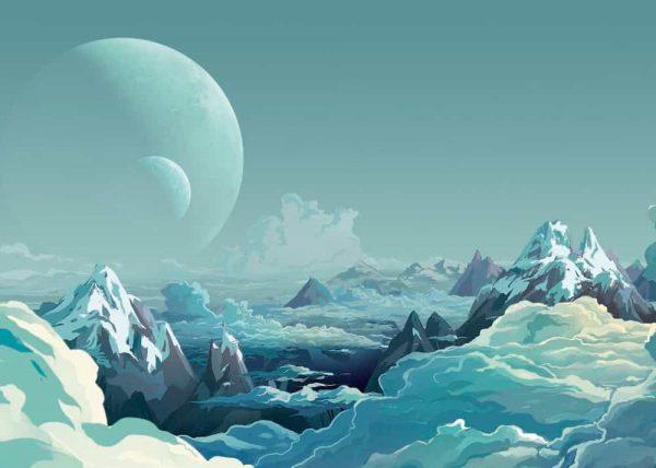 Ilustración Cielo Surreal