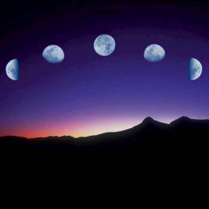 Fotografía Fases Lunares