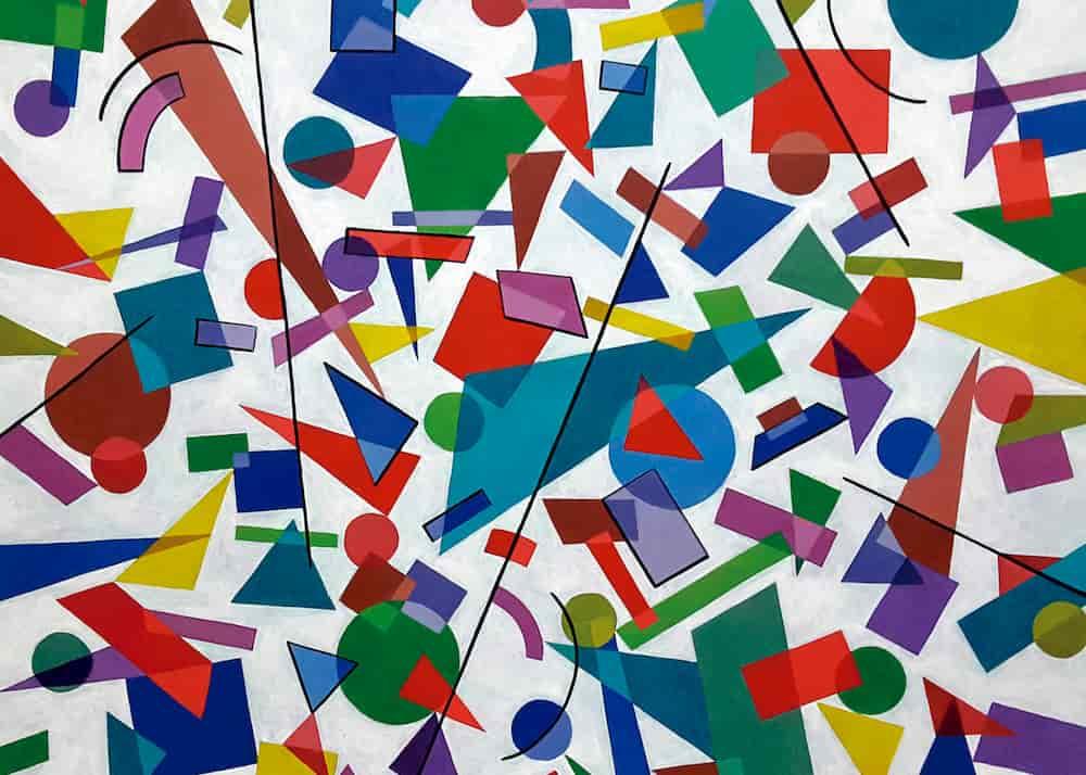 Pintura Formas Geométricas