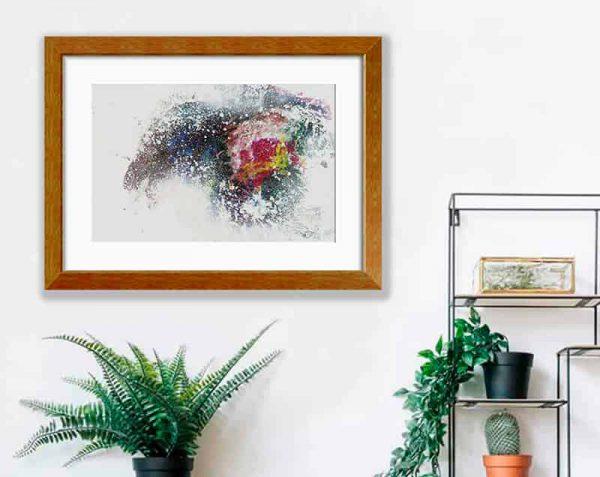 Pintura Colores, Barnizado / con margen